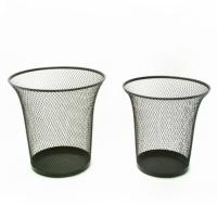 Wire Mesh Wastepaper Basket -Bugle-shaped