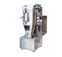 Fluid particle drying machine