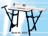 Router Table With Extensible Leg