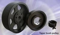 Taper bush pulley