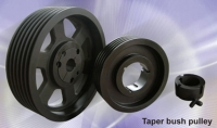 Taper bush pulley