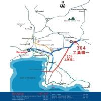 泰國304工業園區位置圖