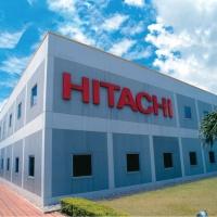 日本HITACHI 公司在工業區內的廠房