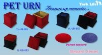 Pet Urn-Velvet surface