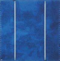 6 inch (156x156mm) Multicrystalline Solar Cell
