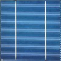 5 inch (125x125mm) Multicrystalline Solar Cell