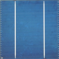 5 inch (125x125mm) Multicrystalline Solar Cell