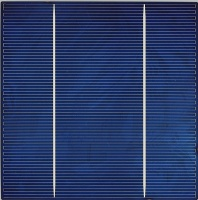 6 inch (156x156mm) Multicrystalline Solar Cell