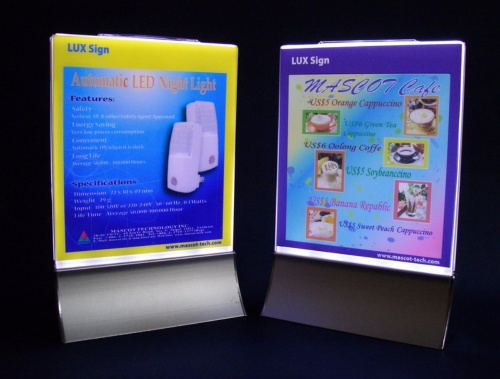 LED LUX Sign