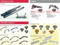 Furniture Hardware (Handles, Hinges, Drawer Slides)