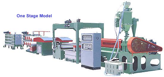 PP/PE Flat Yarn Making Machine