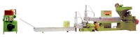 Double Degasification Granule-Making Machine for Treatment of Plastic Waste