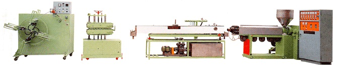 PVC Garden Hose, LDPE/HDPE Rigid Pipe Making Machine