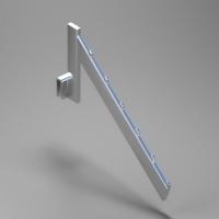 6方珠扁管L型挂杆