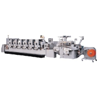 Full Rotary (Intermittent Feeding) Modular Head Label Printing Machine