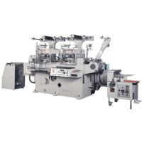 Multi-Functions Label Making Machine (Flat Bed Die-Cutter for Rotary Machine)