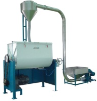 High-Capacity Horizontal Mixer Machine with Auto Feeding System