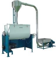 卧式搅拌机与自动送料系统