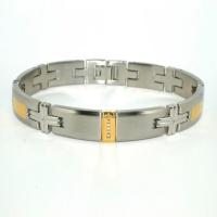Titanium 18k Gold Bracelet