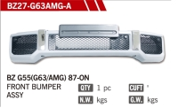 G55 BUMPER KITS with G63 AMG LooK