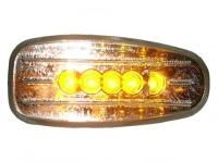 CLEAR LED SIDE MARKER FOR BZ W210, W/5 LEDs