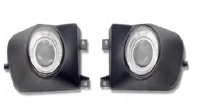 FOG LAMP ASSY FOR E39, (PROJECTOR & LED RING)