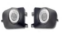 FOG LAMP ASSY FOR E39, (PROJECTOR & LED RING)