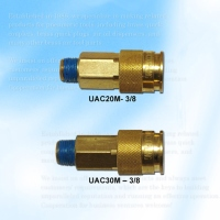 Universal Style Coupler, Male--3/8 Body
