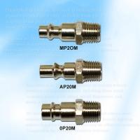 Three Way Style Coupler Fitting Plug, Male