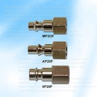 Three Way Style Coupler Fitting Plug, Female