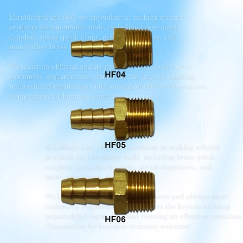 Hose-end Fitting, 3/8 Male