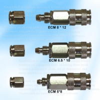 Three Way Style Coupler ,PU Movable Hose
