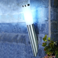 Stainless steel with PC diffuser wall lamp