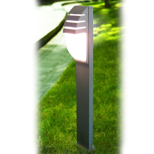 Aluminium with PC diffuser garden lamp
