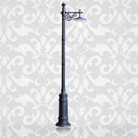Aluminium with PC diffuser street lamp