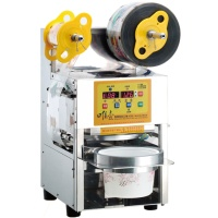 Packaging Sealing Machine for Cups With Special Openings