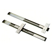 Pocket cabinet door slides