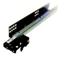 Concealed two-fold spring drawer slides