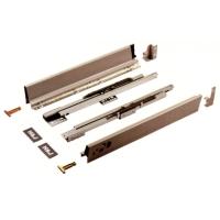 Concealed aluminum drawer slides