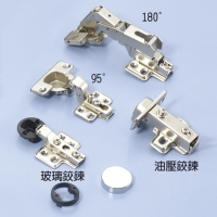 German-style Hinges, Hydraulic Hinges, Glass  Hinges