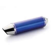 Carp Mouth - Blue Titanium Alloy