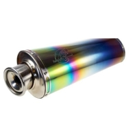 Oval Rainbow Titanium Alloy - Roll Cover