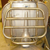 Universal Stainless-steel Front Luggage Rack (S)