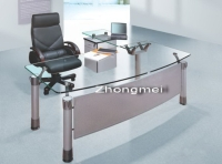 Cens.com office desk, boss desk, executive desk, glass desk ZHONGMEI METAL FURNITURE MANUFACTURING CO., LTD.