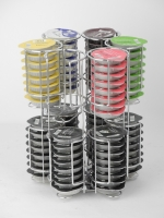 Tassimo Coffee Capsules Rack With Rotating Function Rotating coffee capsules rack