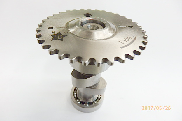 BuBu125, 凸輪軸