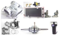 Cygnus 125, water cooler Cylinder and air cooler cylinder head Kit