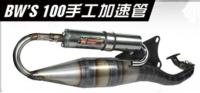 BWS 100,排氣管
