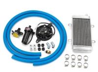 加大水箱+风扇+感温器+水管