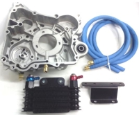 Racing King 180, oil cooler set